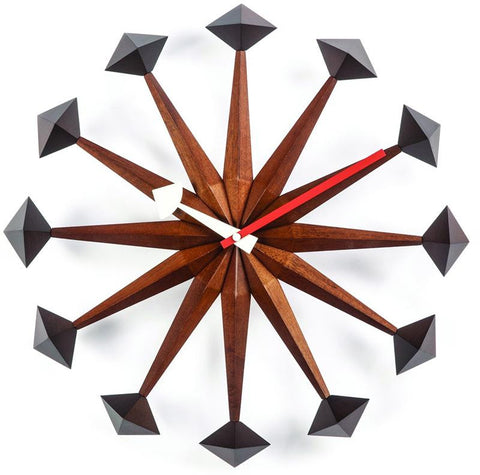 The Sicily Mid Century Clock