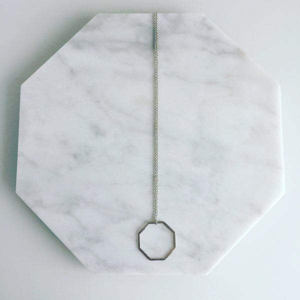 Octagon medium necklace