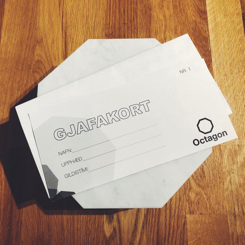 Octagon Gift Card