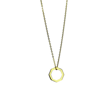 Load image into Gallery viewer, Baby Octagon necklace