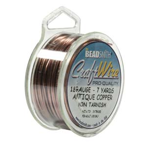 Craft Wire - Antique Copper 18g - 26g