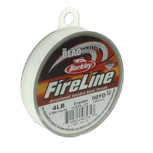 Fireline Beading Thread - Crystal 50yd - The Bead N Crystal & Enclave Gems