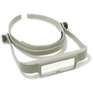 OptiSight Magnifying Visor (Blue) - The Bead N Crystal & Enclave Gems