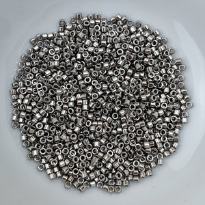 11/0 Delica - Nickel Plated  DB0021 - The Bead N Crystal & Enclave Gems
