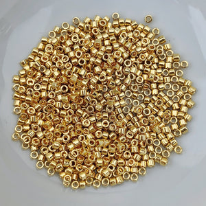11/0 Delica - 24kt Gold Plated DB0031 - The Bead N Crystal & Enclave Gems