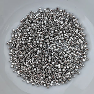 11/0 Delica - Palladium Plated DB0038 - The Bead N Crystal & Enclave Gems