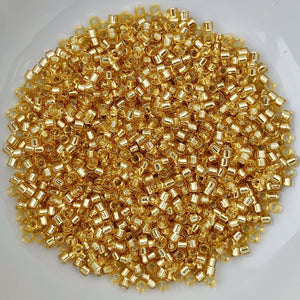 11/0 Delica - S/L Gold  DB0042 - The Bead N Crystal & Enclave Gems