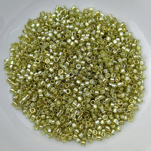 11/0 Delica - Golden Olive Luster DB0124 - The Bead N Crystal & Enclave Gems