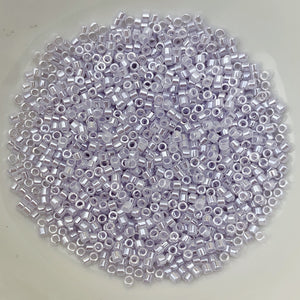 11/0 Delica - Pale Violet Ceylon DB0241 - The Bead N Crystal & Enclave Gems