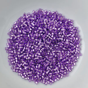 11/0 Delica - Dyed S/L Lilac DB1343 - The Bead N Crystal & Enclave Gems