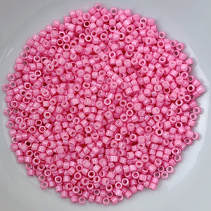 11/0 Delica - Dyed Carnation Pink DB1371 - The Bead N Crystal & Enclave Gems