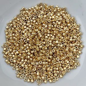 11/0 Delica - Duracoat Galvanized Gold DB1832 - The Bead N Crystal & Enclave Gems