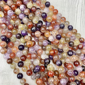 Super 7 (light) 10 mm - The Bead N Crystal & Enclave Gems