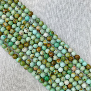Mongolian Opal 6 mm - The Bead N Crystal & Enclave Gems