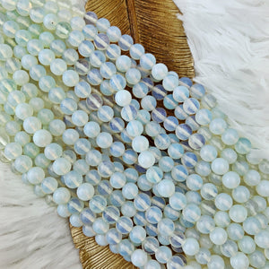 Opalite 8 mm - The Bead N Crystal & Enclave Gems
