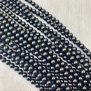 Onyx 6 mm - The Bead N Crystal & Enclave Gems