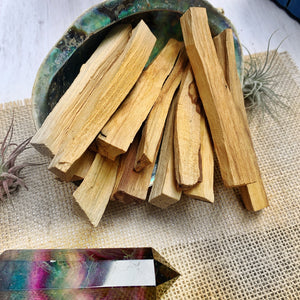 Palo Santo Sacred Wood (pack of 10-14pcs) - The Bead N Crystal & Enclave Gems