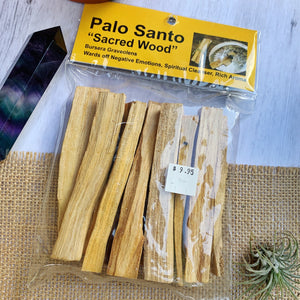 Palo Santo Sacred Wood (pack of 7pcs) - The Bead N Crystal & Enclave Gems