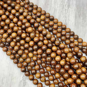Rosewood Strand 10mm - The Bead N Crystal & Enclave Gems