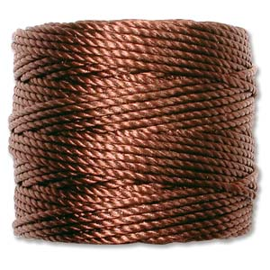 S-Lon Bead Cord - Brown (Heavy) - The Bead N Crystal & Enclave Gems