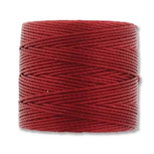 S-Lon Bead Cord - Red Hot