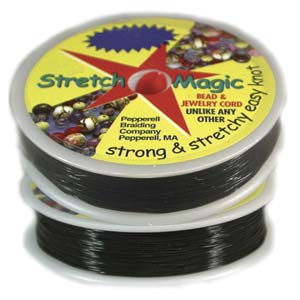 Stretch Magic .1mm 25meter Spool - The Bead N Crystal & Enclave Gems
