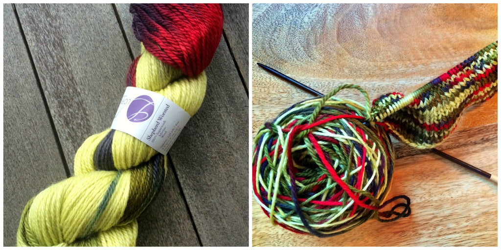 A New Color for Our Handknits - Zombie BBQ!