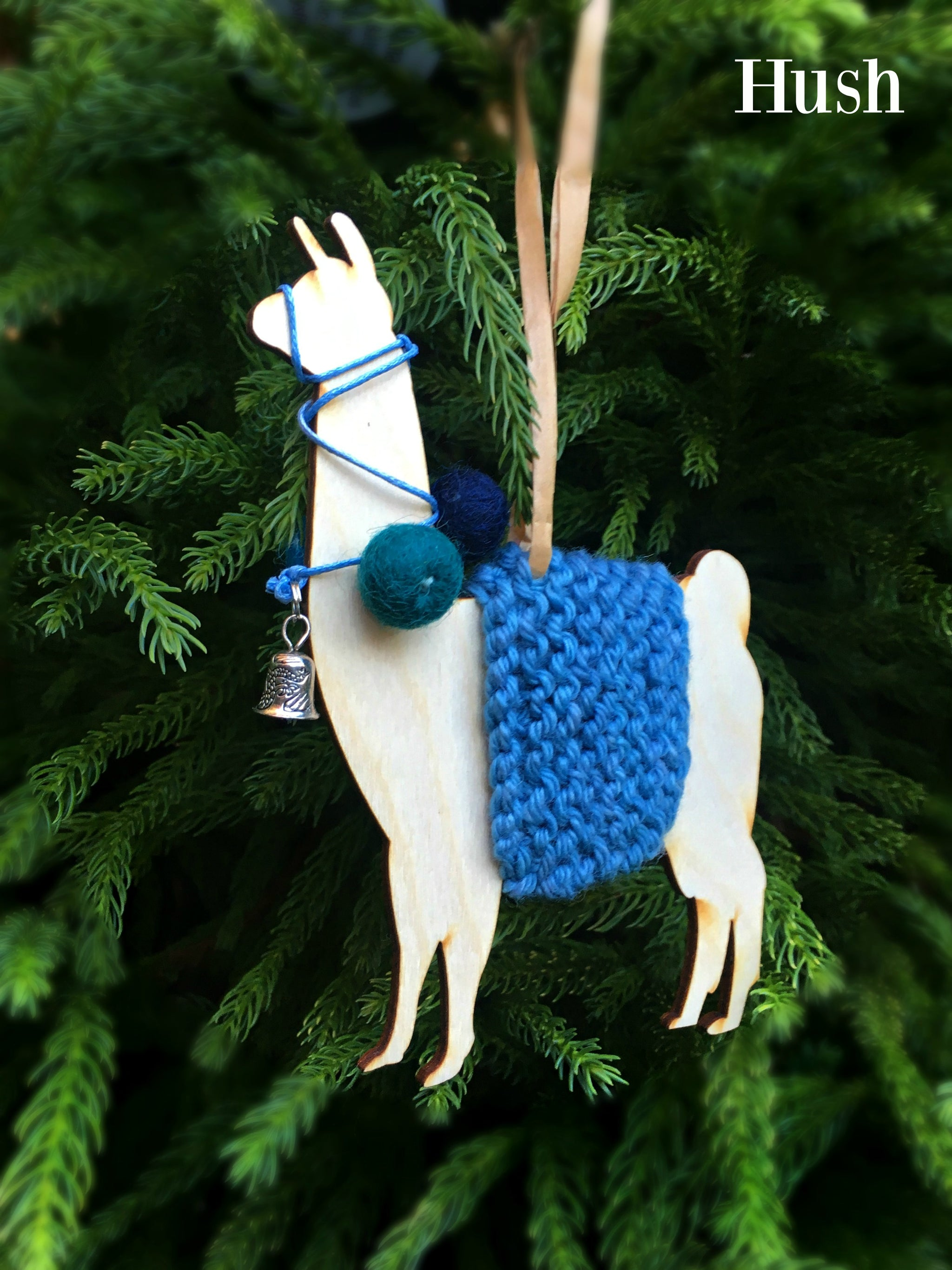 Llama Christmas Decorations.Holiday Decorations Llamas In Traditional Dress