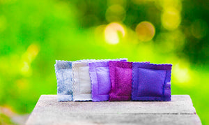 Catnip Ravioli 5 Pack in Lavender Fields Felt