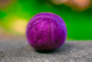 Fetch1.5!  Alpaca Dog Ball in Crushed Velvet