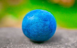 Fetch2.0!  Alpaca Dog Ball in Summer Blue