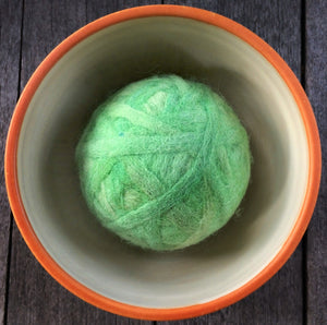 Fetch2.5!  Alpaca Dog Ball in Willow Springs Green