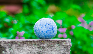 Fetch3.0!  Alpaca Dog Ball Blue Tweed
