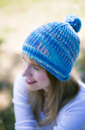 Bumble Beaded Rib Hat