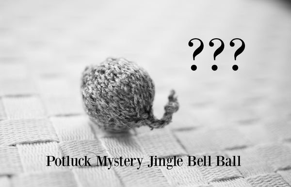 Jingle Bell Ball Cat Toy in Potluck Mystery Color
