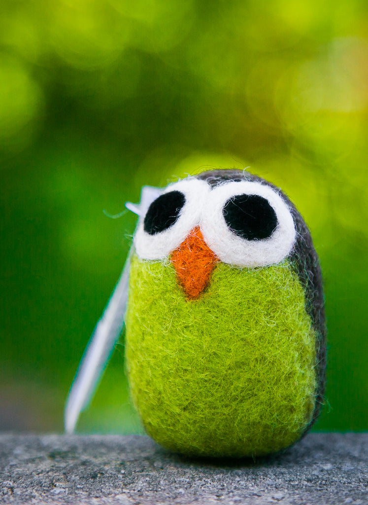 Lollycadoodle Felted Dog Toy Owl