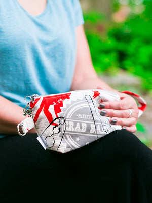 Leash Bag/Wristlet for Training Treats Crab Bake