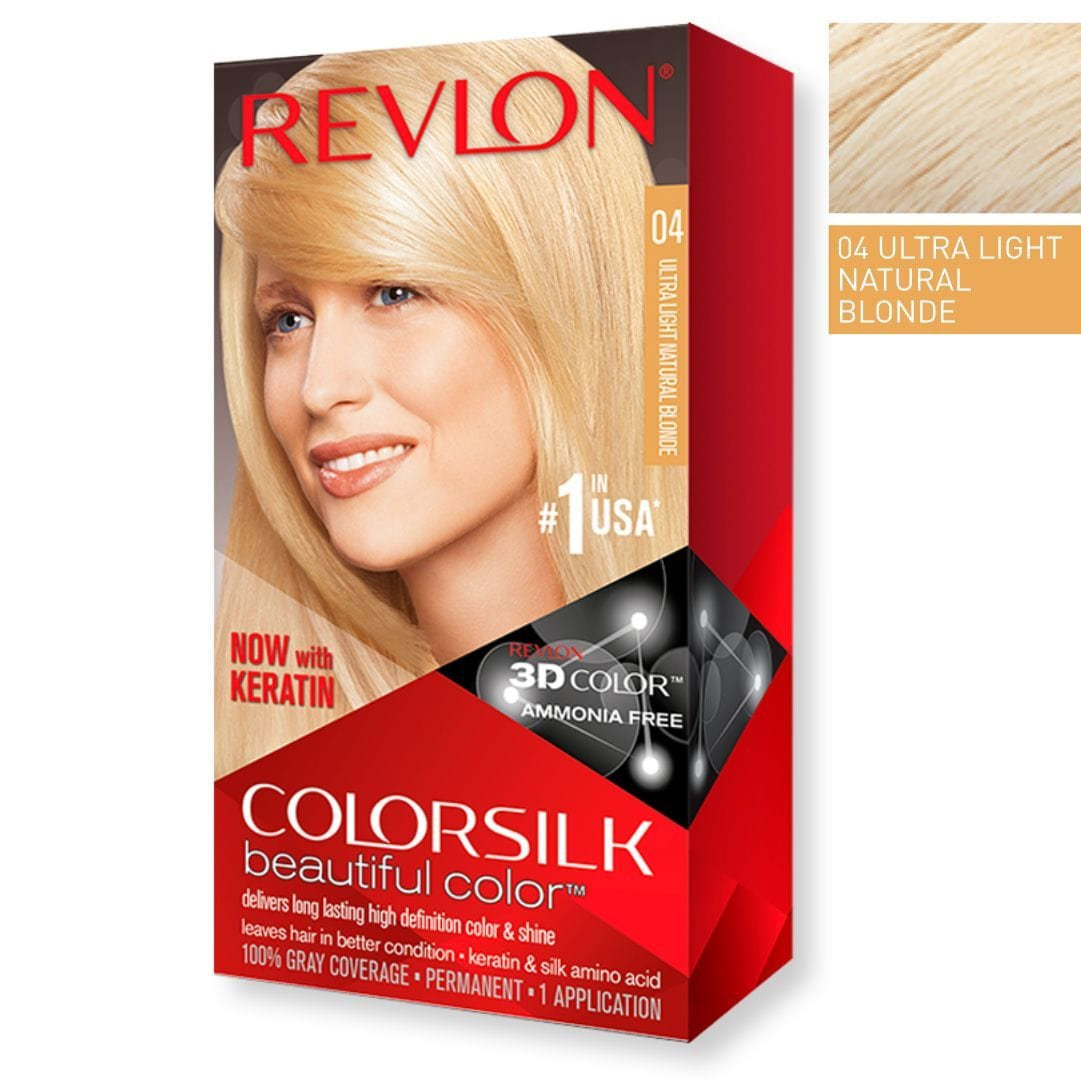 Revlon ColorSilk 04 Ultra Light Natural Blonde | Duo Cosmetics