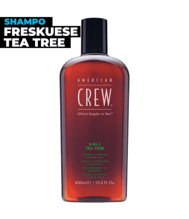 American Crew 3in1 Tea Tree Shampoo | Duo Cosmetics