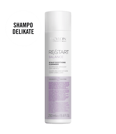 revlon professional RESTART BALANCE SOOTHING CLEANSER | Duo Cosmetics