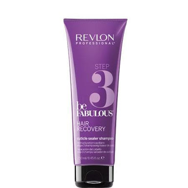 Revlon Professional Be Fabulous Recovery Cuticle Sealer Shampoo - STEP 3 | Duo Cosmetics