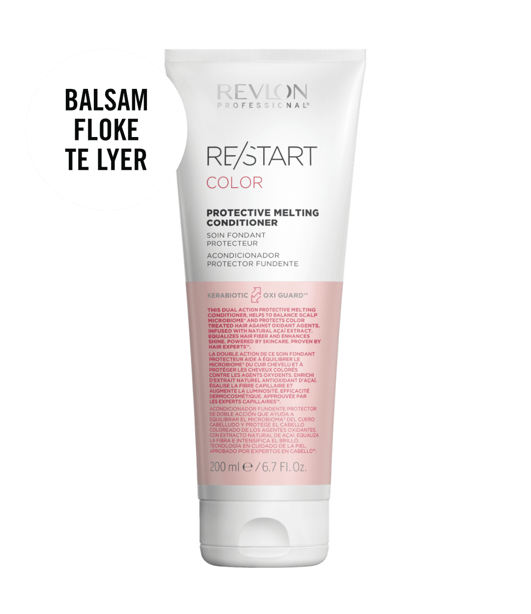 revlon professional RESTART COLOR MELTING CONDITIONER | Duo Cosmetics
