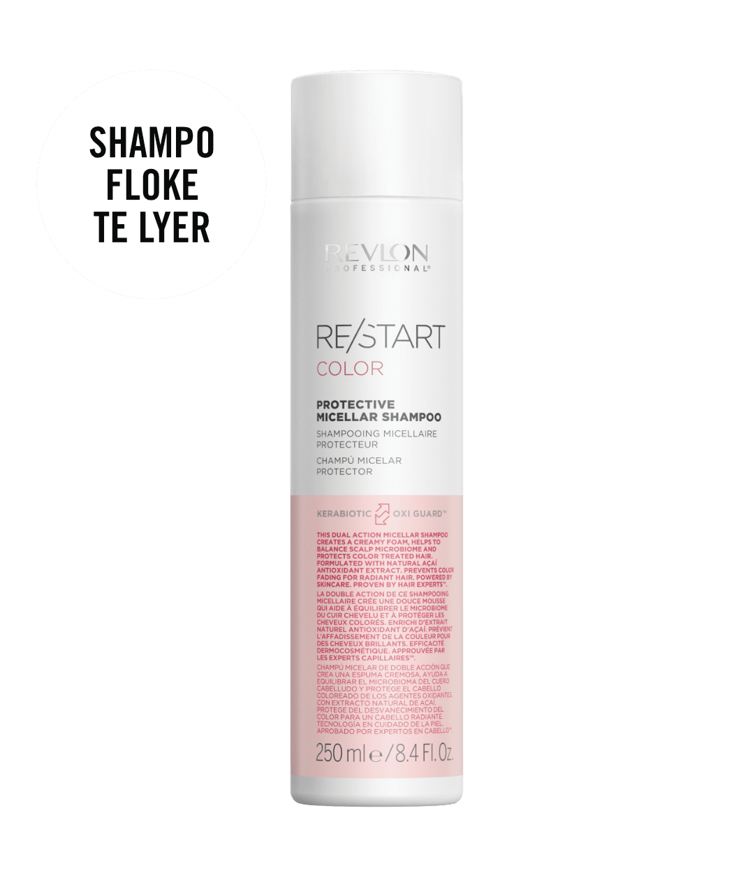 revlon professional RESTART COLOR PROTECTIVE SHAMPOO | Duo Cosmetics