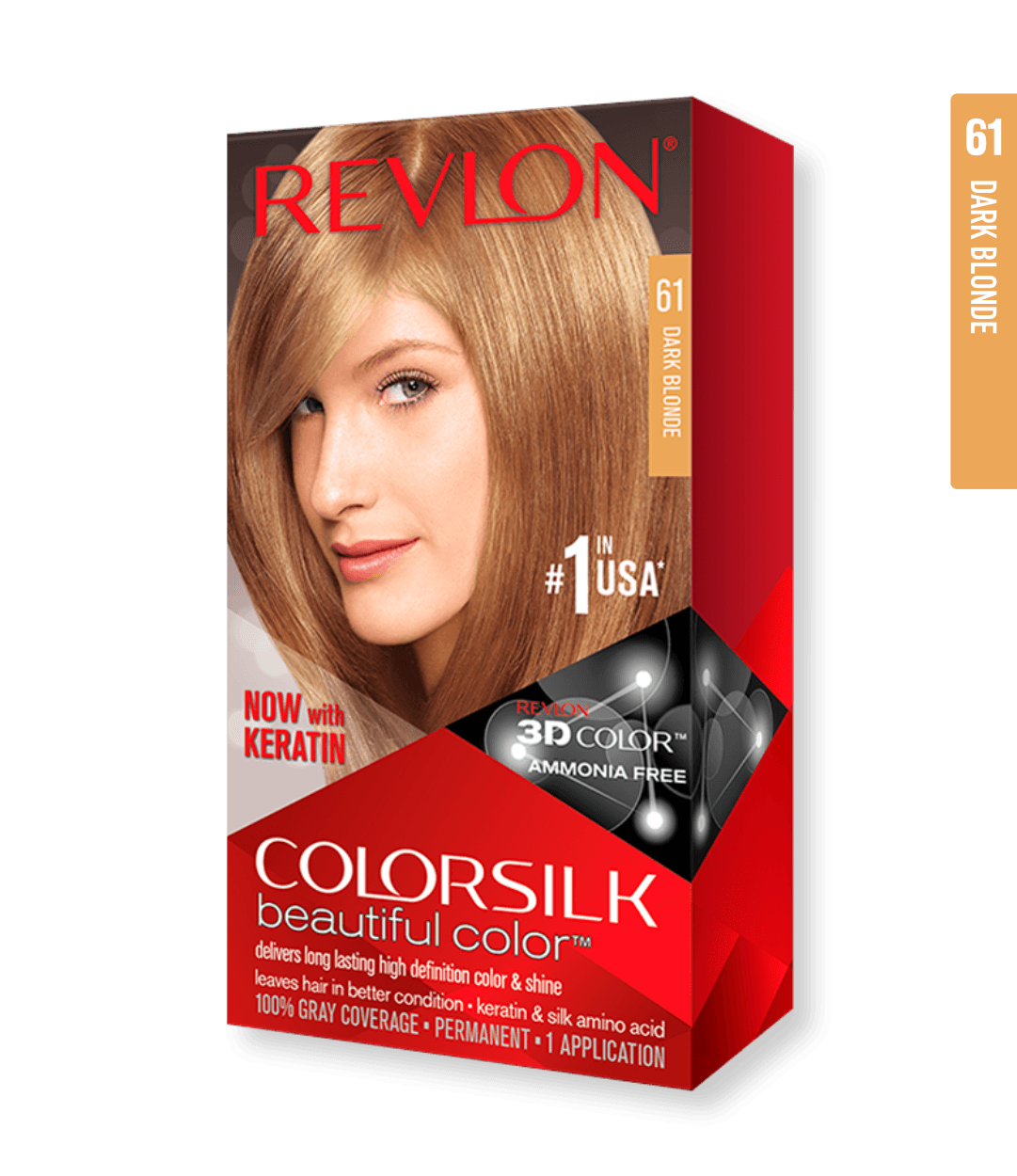 Revlon ColorSilk 61 Dark Blonde | Duo Cosmetics