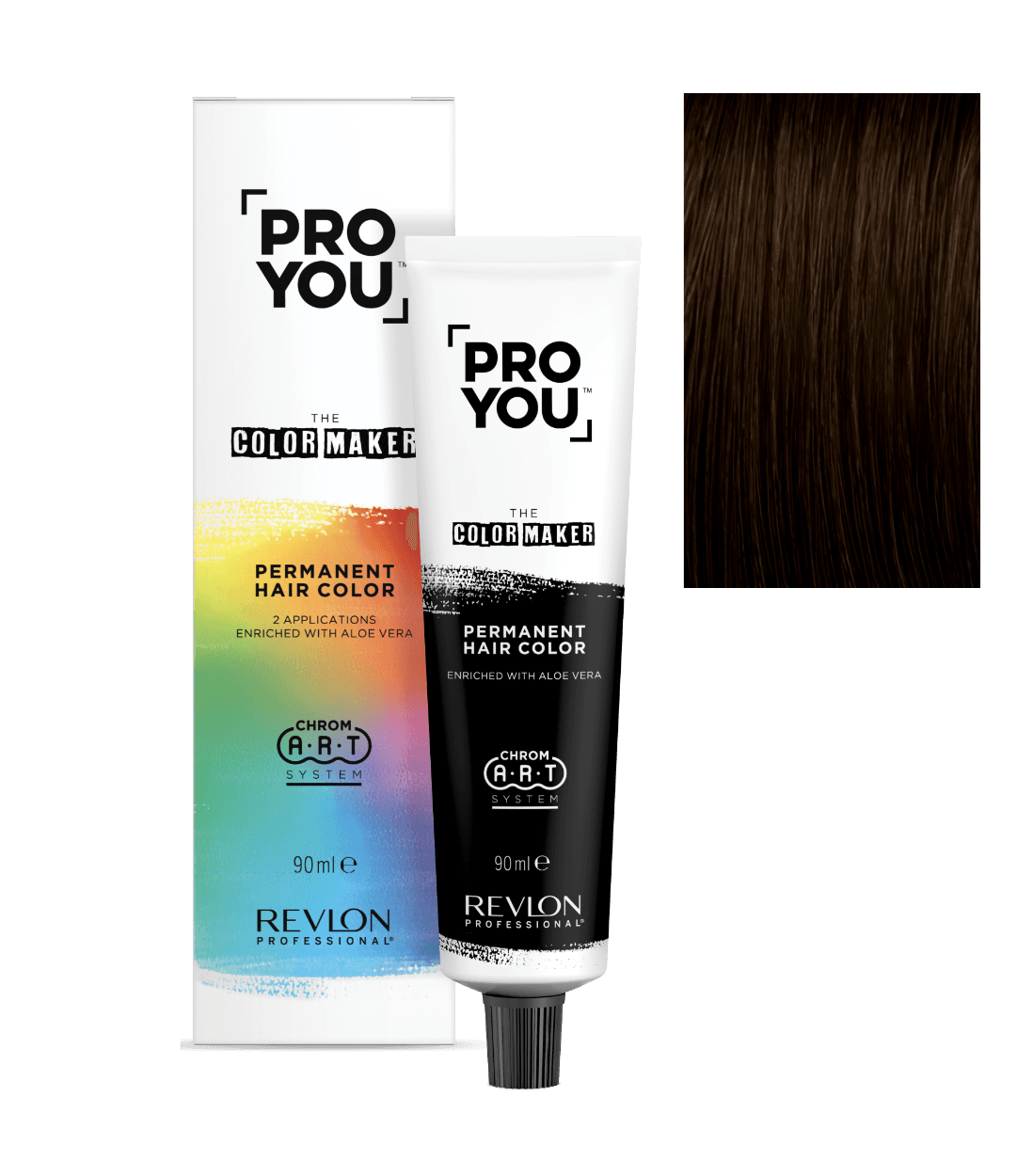 revlon professional ProYou Color Maker 4.8 | Duo Cosmetics