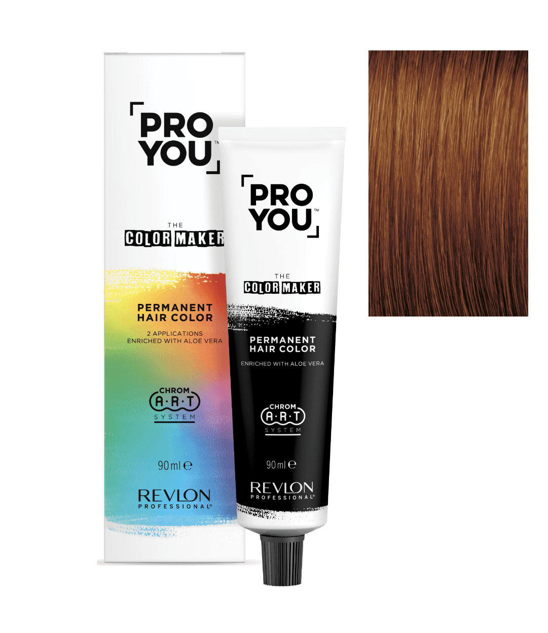 revlon professional ProYou Color Maker 7.44 | Duo Cosmetics