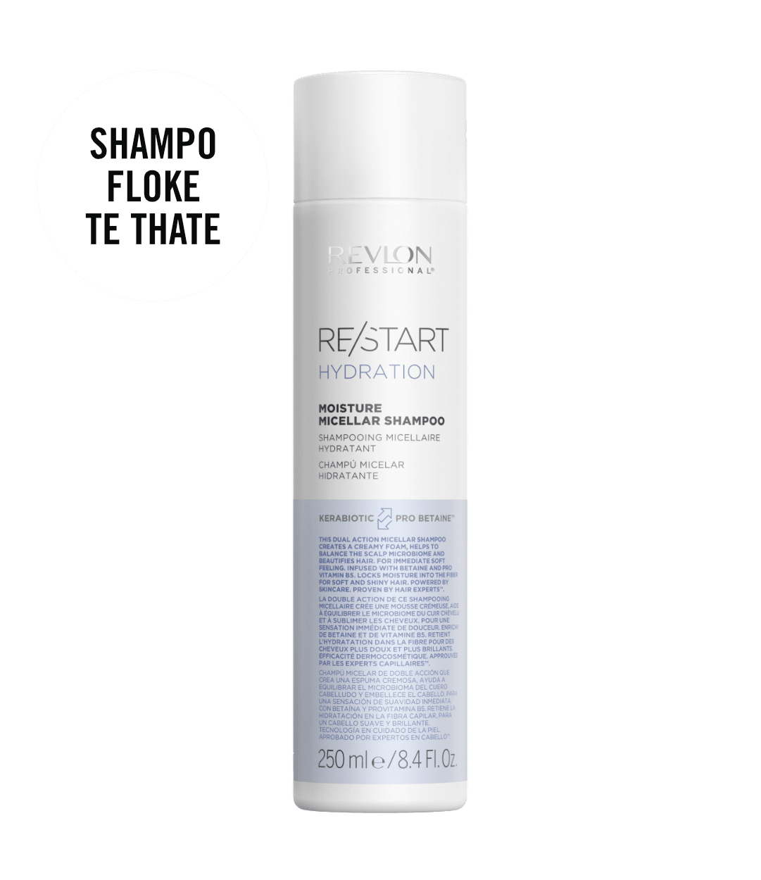 revlon professional RESTART HYDRATION SHAMPOO | Duo Cosmetics