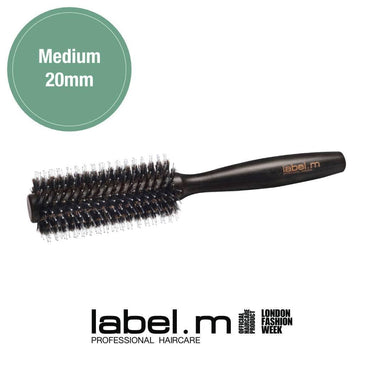 Label.m Boar Bristle Brush Medium 20mm | Duo Cosmetics
