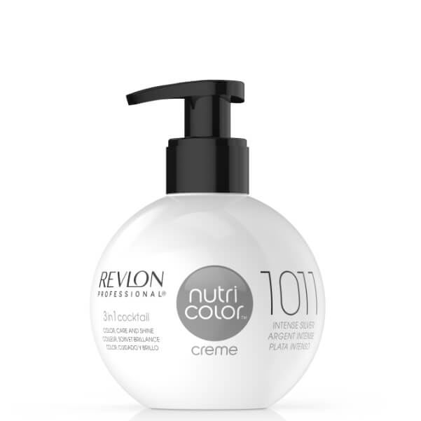 Revlon Professional Nutri Color Creme 1011 Intense Silver | Duo Cosmetics