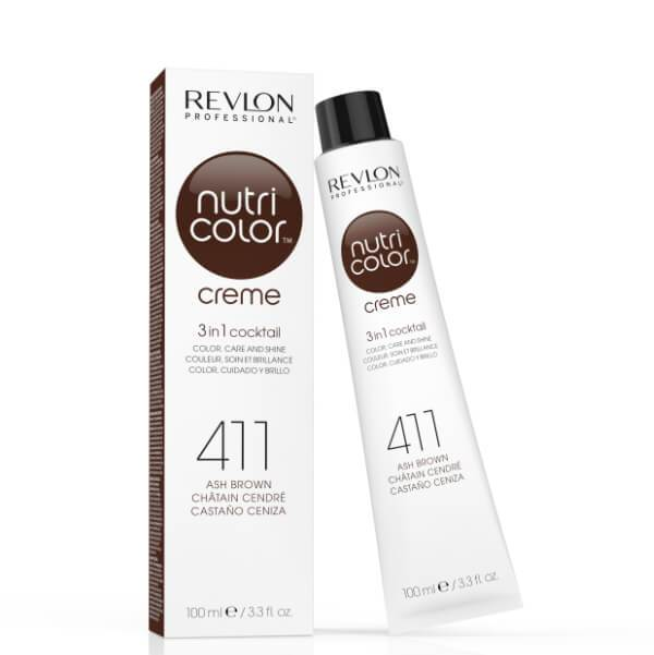 Nutri Color Creme 411 Ash Brown - Duo Cosmetics